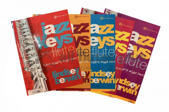 Jazz Keys Flute Sight Reading Made Fun-Book and Audio CD-Lindsay Berwin