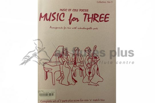 Music for Three Collection No 5-Music of Cole Porter-Last Resort