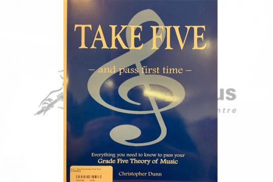 Take Five and Pass First Time Theory Book-Christopher Dunn
