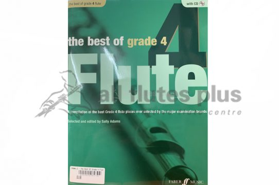 The Best of Grade 4 Flute-Flute and Piano with CD-Edited by Sally Adams-Faber Music