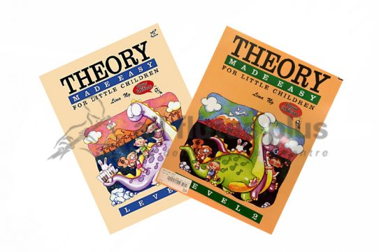 Theory of Music Made Easy for Little Children New Edition-Lina Ng