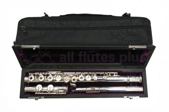 Trevor James Virtuoso Silver Secondhand Flute-c8808