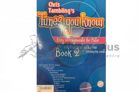 Tunes You Know Book 2-Tambling-Flute and Piano-Kevin Mayhew