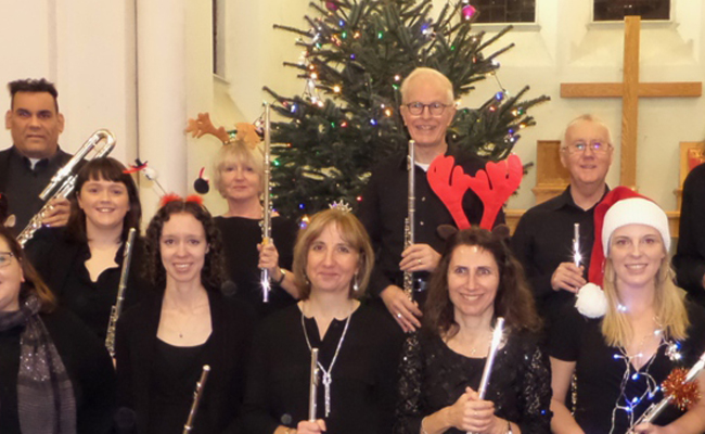 Chichester Flute Choir Concert-Sunday 8th December 2019 3pm