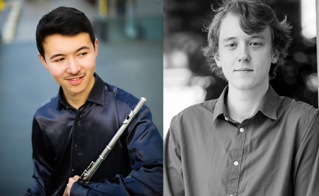 Daniel Shao and Joseph Havlat-Flute and Piano Recital-Scunthorpe and North Lincolnshire Concert Society-6th December 2019