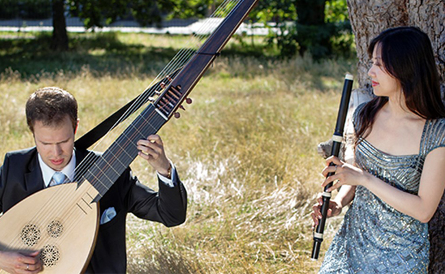 Flauguissimo Duo-Yu Wei Hu and Johnan Lofving Flute and Theorbo Recital-27th November 2019