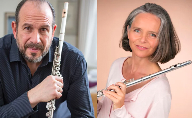 Flute Flight Flute Day with Wissam Boustany and Nicola Woodward-17th November 2019