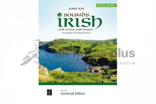 Sounds Irish by James Rae-Flute and Piano-Universal Edition