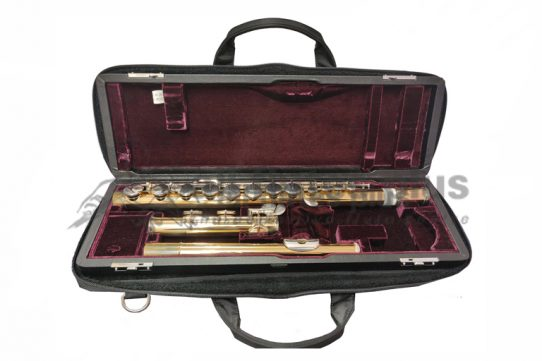 Yamaha YFLA421E Lacquered Brass Secondhand Alto Flute-c8823
