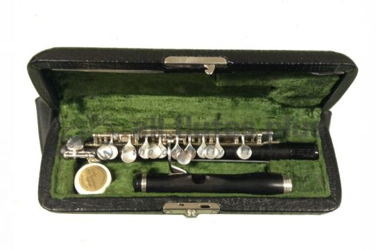 Hammig Grenadilla Wood Secondhand Piccolo with Reform Headjoint-c8831