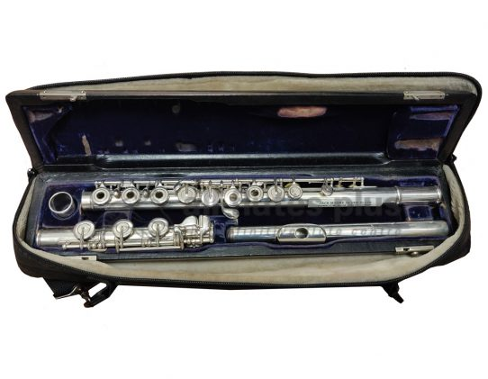 Jack Moore Second Hand Flute Convertible C/B Footjoint - c8311