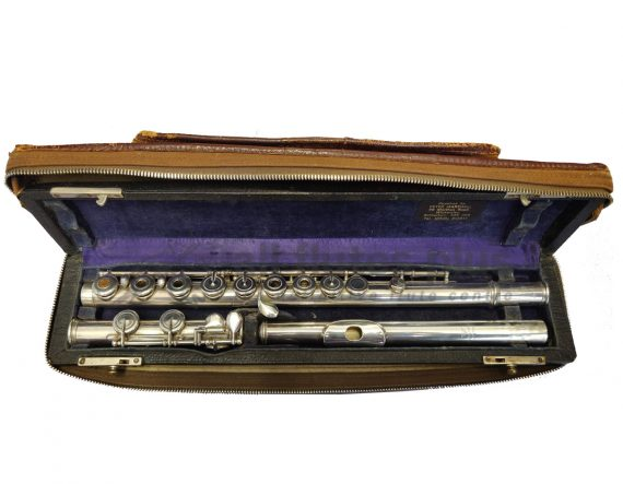 Louis Lot Secondhand Flute with Powell Head Joint-c8708