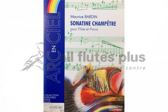 Bardin Sonatine Champetre-Flute and Piano-Editions Combre