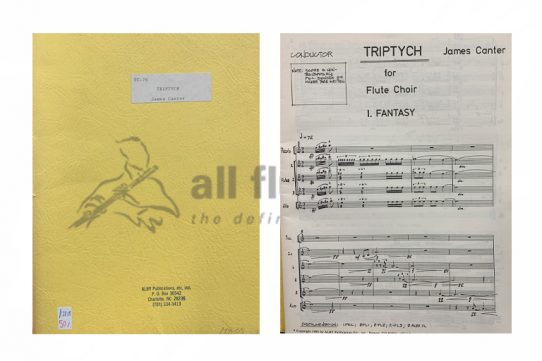 Canter Triptych-Flute Choir-Alry Publications