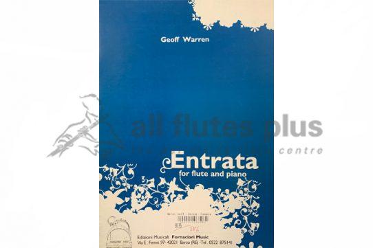 Geoff Warren Entrata-Flute and Piano-Forton Music