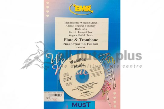 Mendelssohn Wedding Music-Flute and Trombone with Piano and CD Play Back-Editions Marc Reift