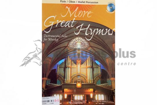 More Great Hymns Instrumental Solos for Worship-Curnow Music