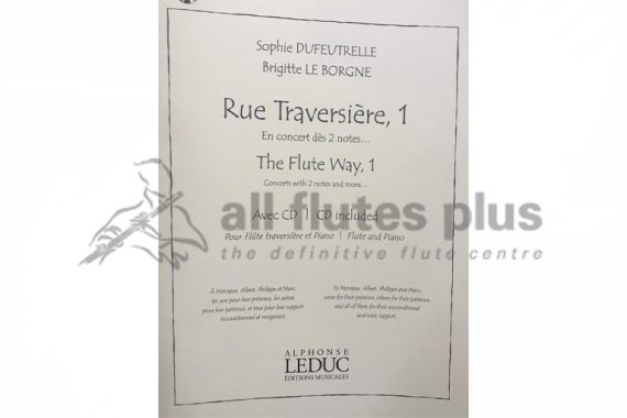 The Flute Way 1-Flute and Piano-Leduc