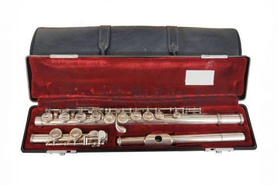 Yamaha YFL411 Secondhand Flute-c8730