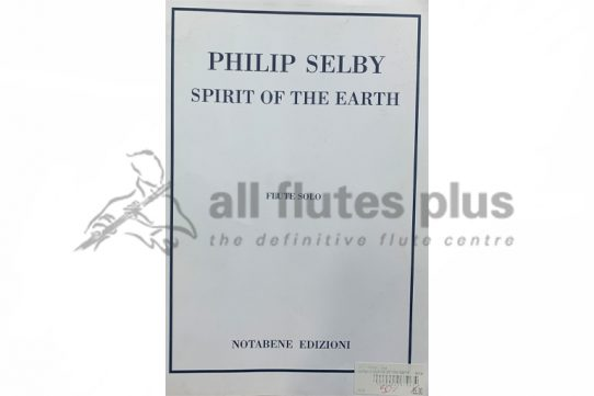 Shelby Spirit of the Earth-Flute Solo-Notabene Edizioni