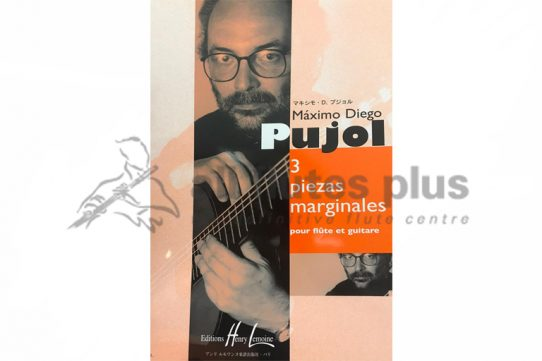 Pujol 3 Piezas Marginales-Flute and Guitar-Lemoine