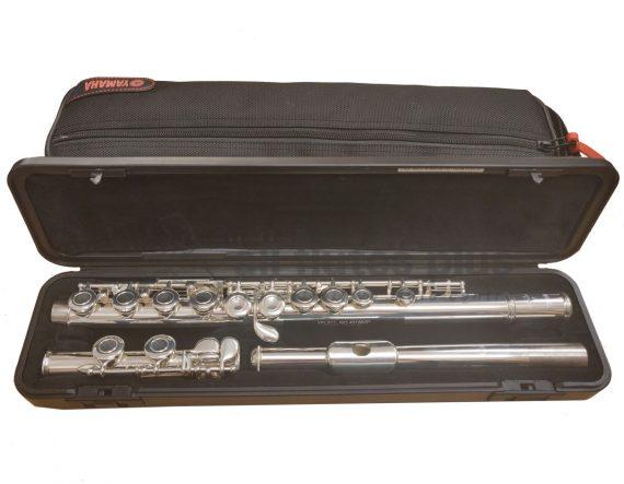 Yamaha YFL211 Secondhand Flute-c8901