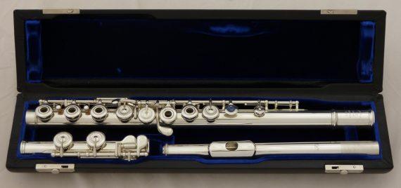 Arista Handmade Silver Flute C Foot Model