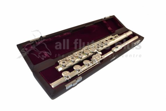Muramatsu DS Model Flute with C Foot and Open Holes
