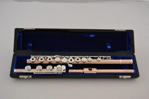 Nagahara 10k Gold Flute with 950 silver tone holes