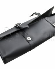 All Flutes Plus Black Leather Case Cover Buckles Image