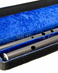 Martin Doyle African Blackwood Traditional Flute in D Close Up Image Two