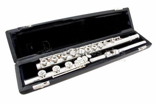 Nagahara Handmade 950 Silver Flute