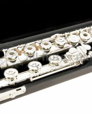Nagahara Handmade 950 Silver Flute Close Up Image Two