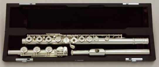 Muramatsu DS Model Flute with B Foot and Open Holes