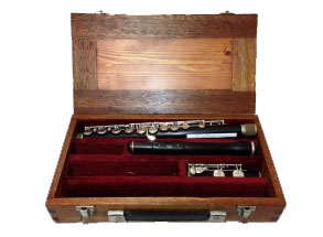 Rudall Carte Cocus Wood Secondhand Flute-C6641