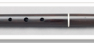 Martin Doyle African Blackwood Traditional Flute in D Model