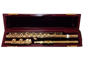 Yamaha 581 Gold plated 100 Centenary Edition Secondhand Flute-C6189