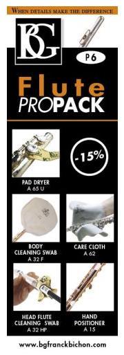 BG P6 Flute Propack